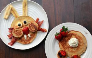 desayunos para niños de conejitos