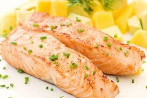 salmón como fuente de vitamina B para niños