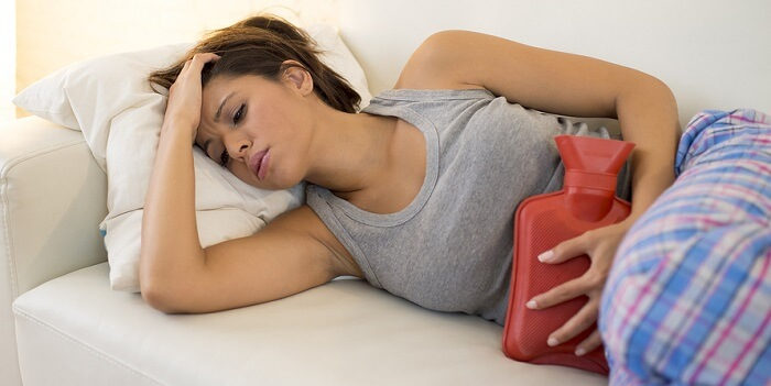 Como reducir los cólicos menstruales