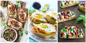 Diferentes recetas saludables con huevo
