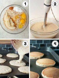 Hot cakes nutritivos