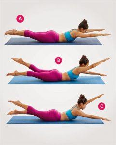 Ejercicios para tonificar brazos y abdomen