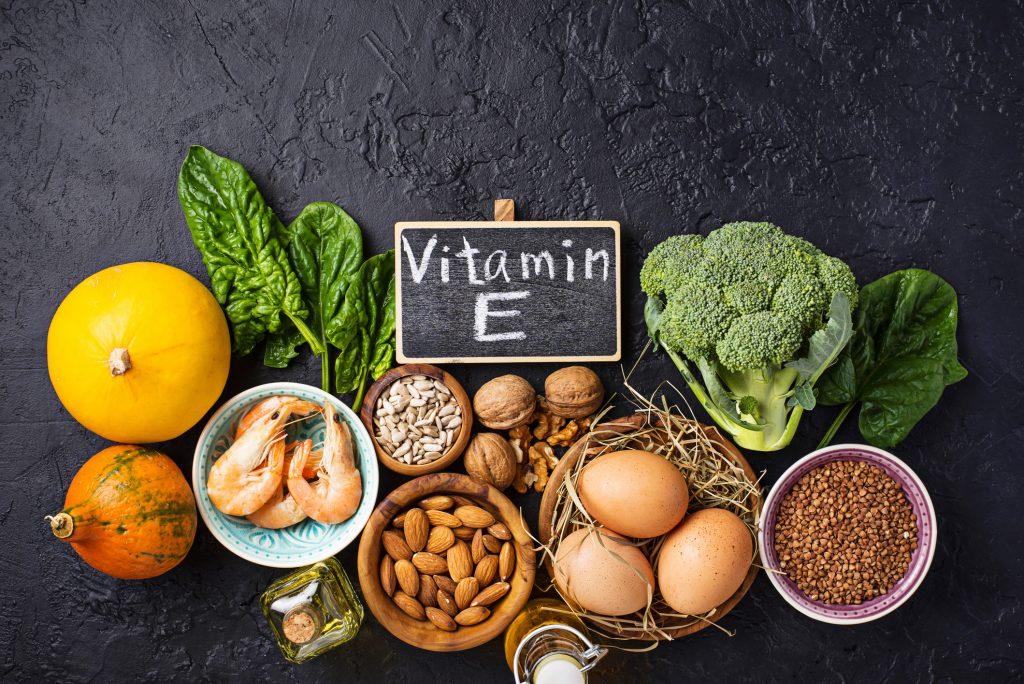 Alimentos con vitamina E