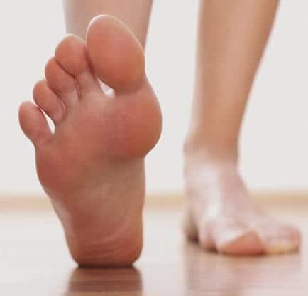 Elimina el hongo de los pies