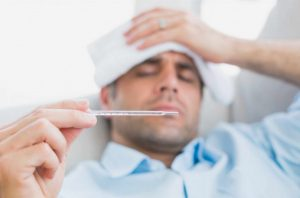 la fiebre en adultos