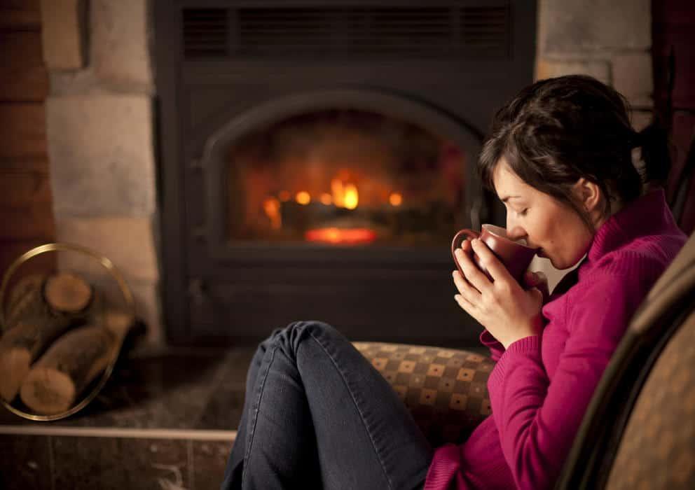 la calefacción en casa