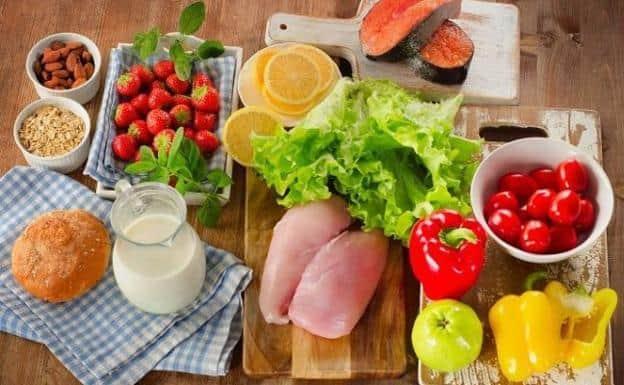 Buena alimentación después de a neumonía